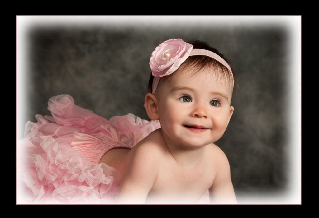 baby portrait glamour shot