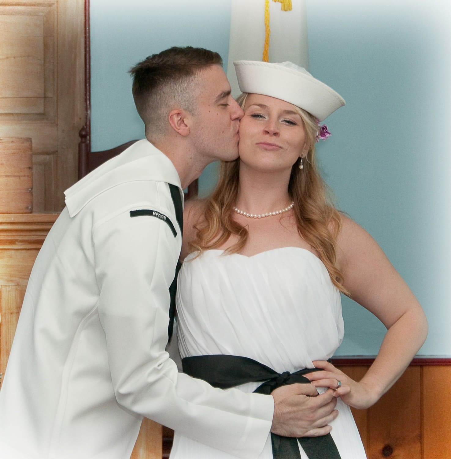sailor wedding