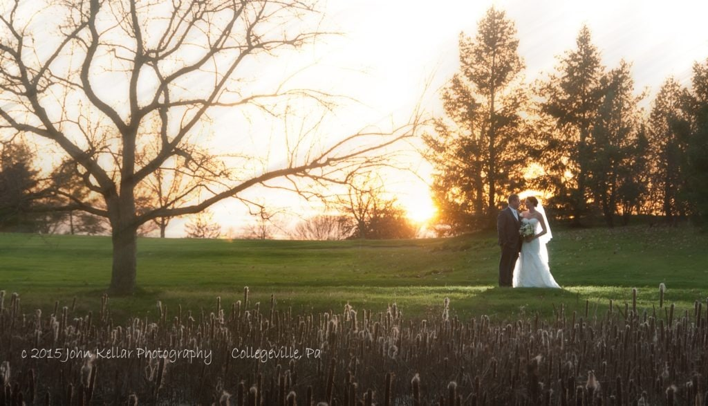 Indian valley country club wedding