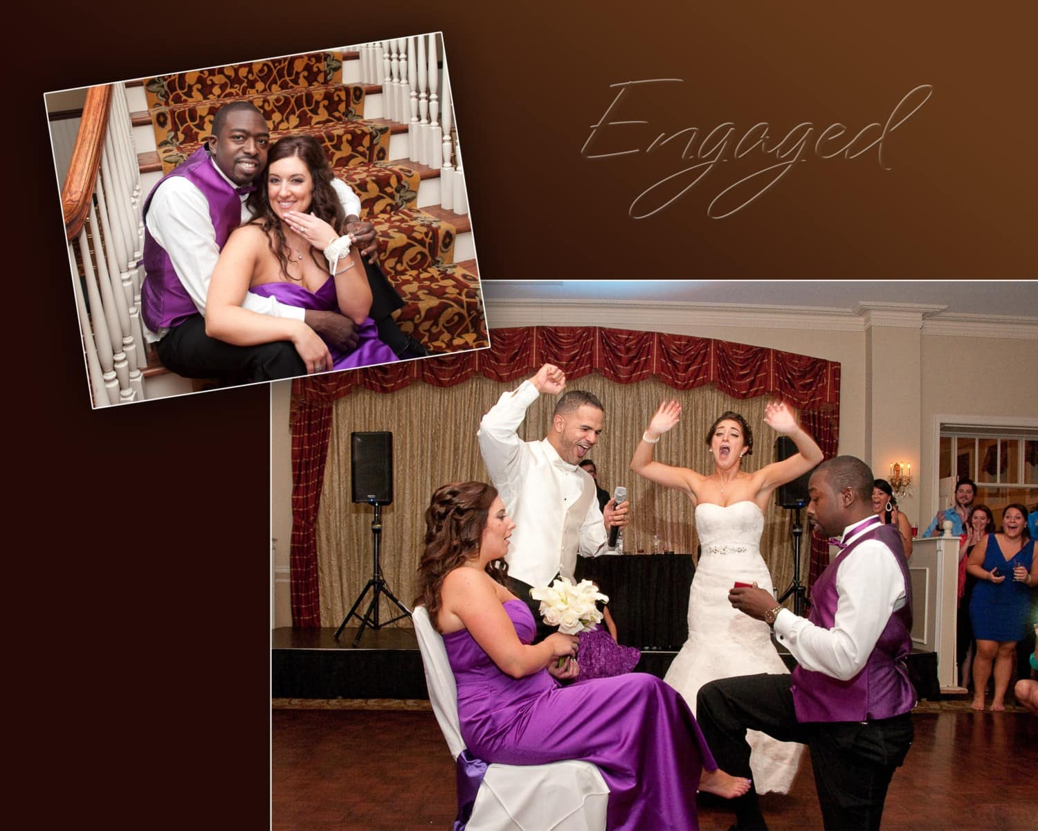 engagement composite wedding photography