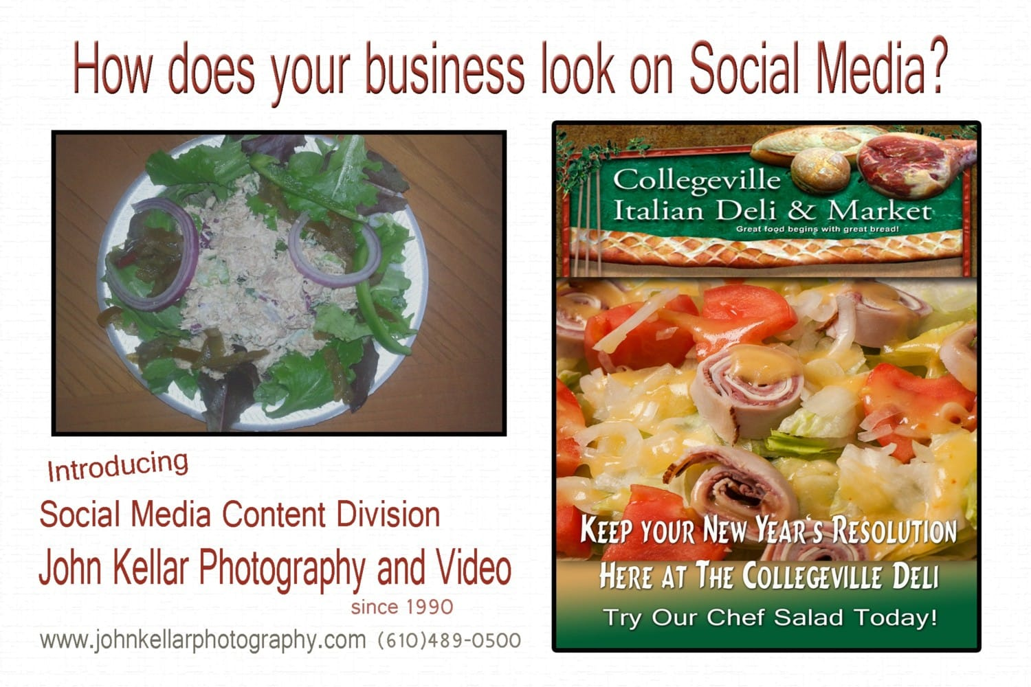 Social media business photography
