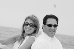 engagement photograph at the beach