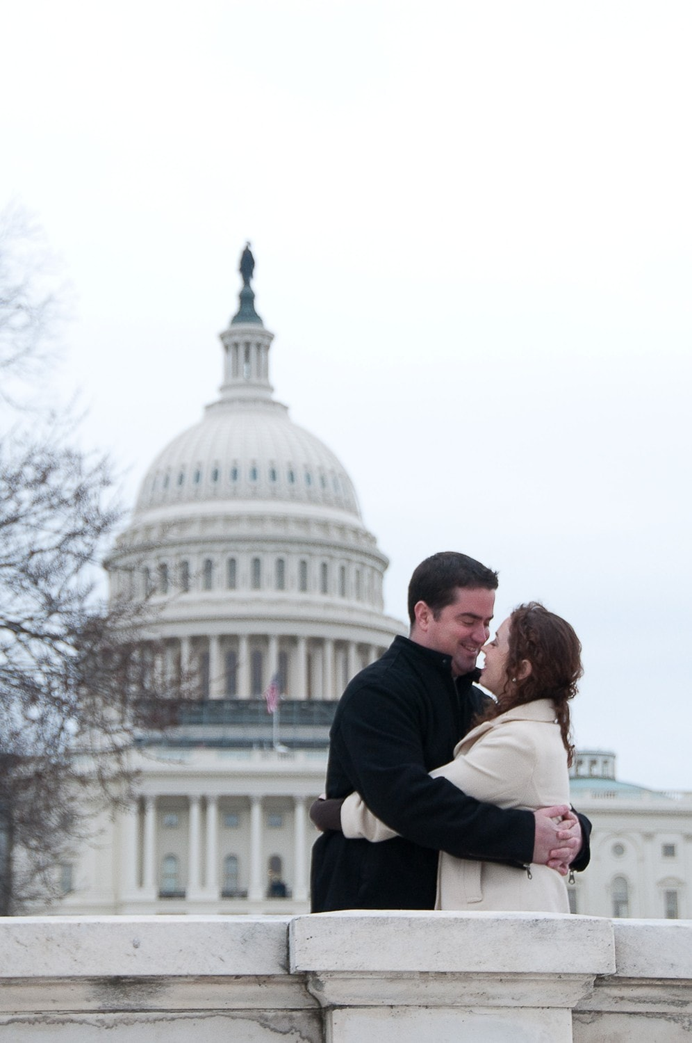 engagement photo washington DC