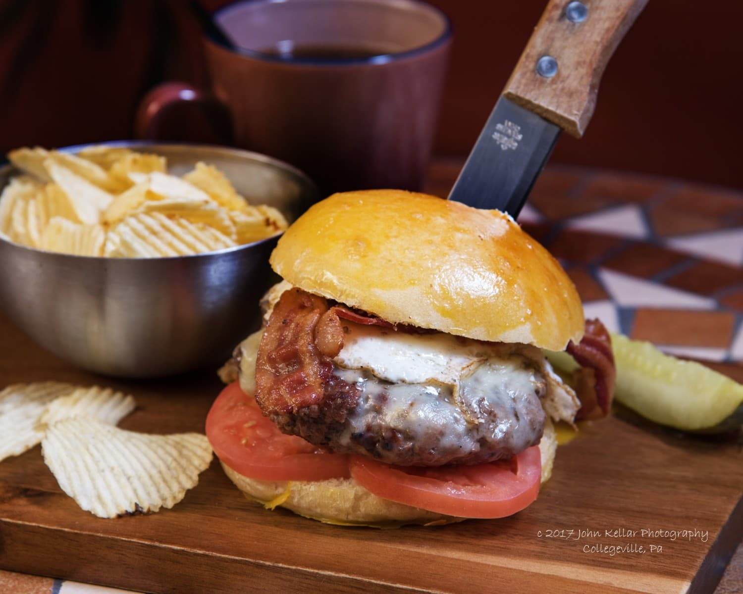 Burger Food Photography