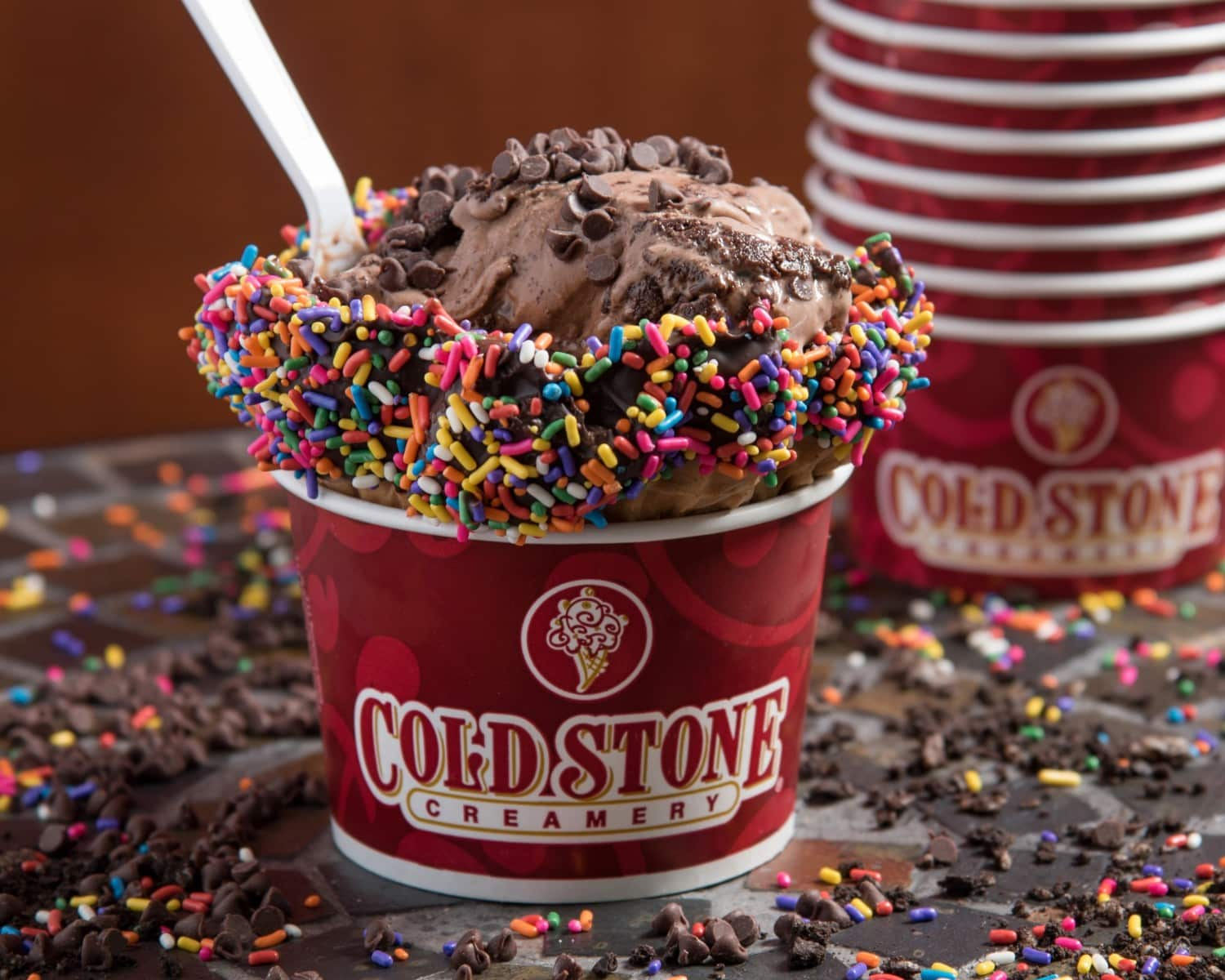 Coldstone Ice Cream Food Photography
