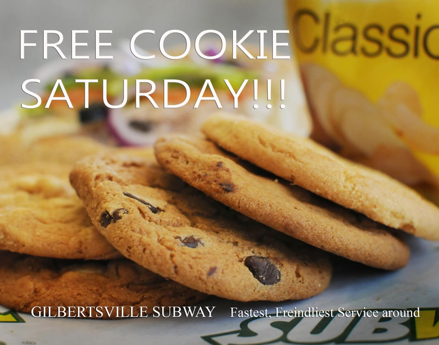 Subway Cookies Gilbertsville