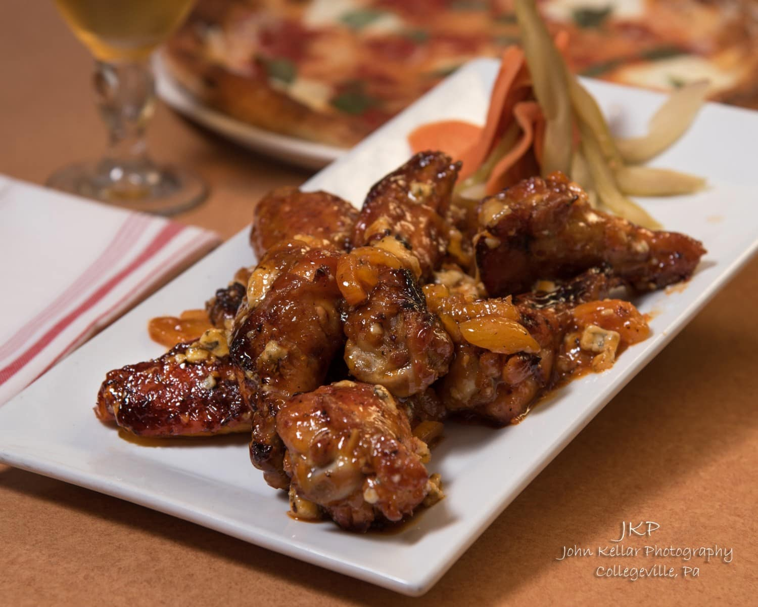 Food Photography Wings